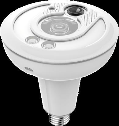 Picture of a white Sengled IoT lightbulb