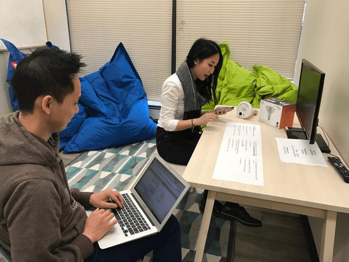 User Testing Session for Sengled